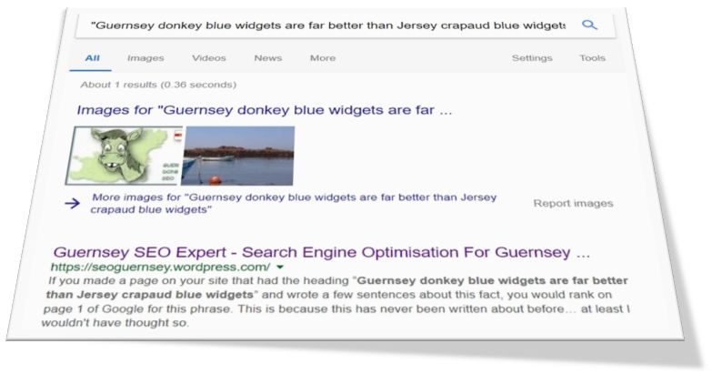 Guernsey Donkey Blue Widgets